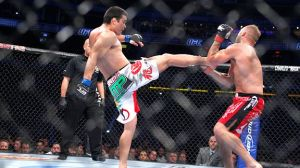 Lyoto Machida has some of the most precise and powerful counter-striking in the Light HW Division.